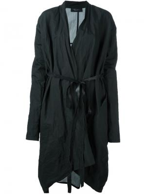 Пальто с принтом Area Di Barbara Bologna. Цвет: зелёный