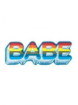 Стикер Babe Anya Hindmarch. Цвет: многоцветный