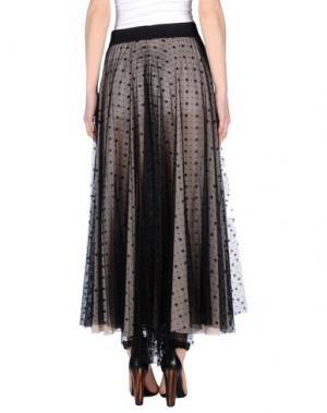 Длинная юбка X'S MILANO. Цвет: черный