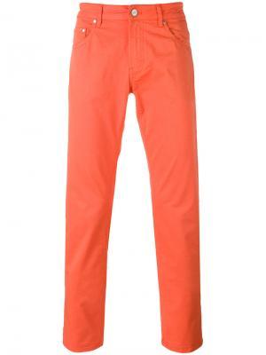 Классические чиносы Pt05. Цвет: жёлтый и оранжевый