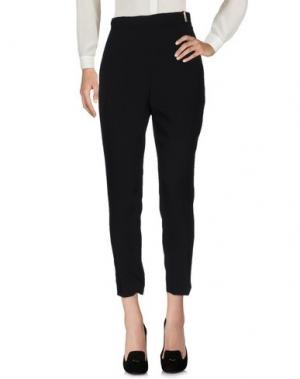 Повседневные брюки ELISABETTA FRANCHI. Цвет: черный