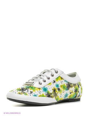 Ботинки Marko. Цвет: белый