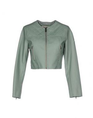 Куртка DUCK FARM. Цвет: светло-зеленый
