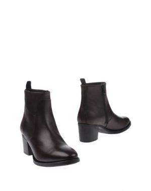 Полусапоги и высокие ботинки GIAMPAOLO VIOZZI. Цвет: баклажанный