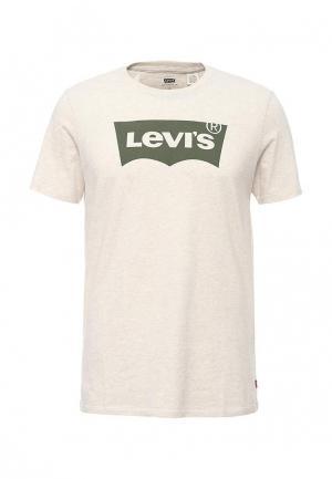 Футболка Levis® Levi's®. Цвет: бежевый