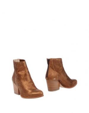 Полусапоги и высокие ботинки FIORIFRANCESI. Цвет: медный