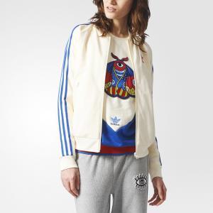 Олимпийка Embellished Arts SST  Originals adidas. Цвет: белый