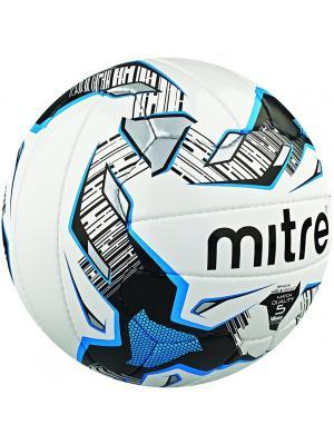 Мяч футбольный MITRE ULTIMATCH 32Р размер 3. Цвет: черный, белый, лазурный