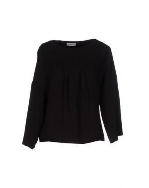 Блузка LIST. Цвет: черный