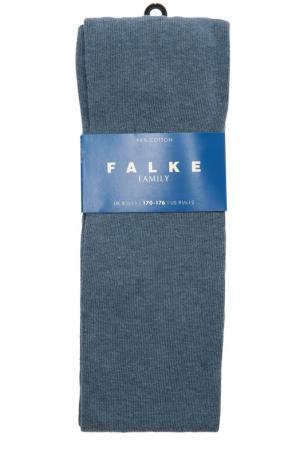 Колготки из хлопка Falke. Цвет: голубой