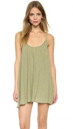 Пляжное платье St Barts 9seed. Цвет: лимон
