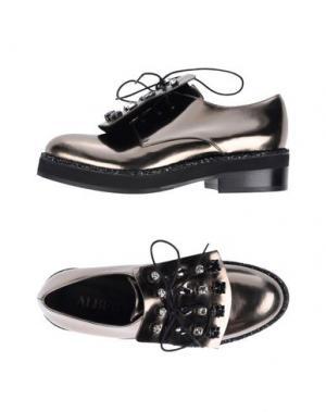 Обувь на шнурках ALBERTO GOZZI. Цвет: бронзовый