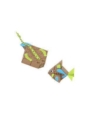 Конструктор Йохо Куб. Морские рыбки Yohocube. Цвет: бежевый