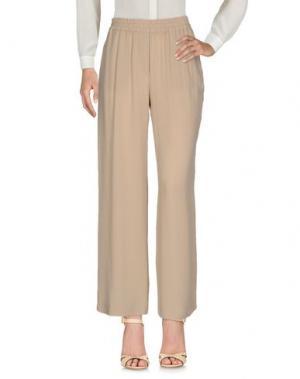 Повседневные брюки N_8. Цвет: хаки
