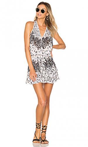 Платье jolie Poupette St Barth. Цвет: black & white