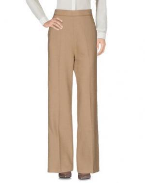 Повседневные брюки HUMANOID. Цвет: бежевый