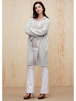Пальто S.OLIVER. Цвет: серый