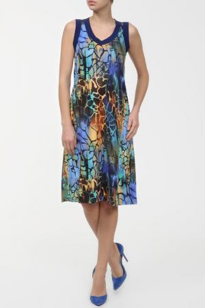 Платье пляжное Massana. Цвет: мультицвет