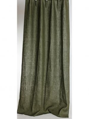 Штора Темно-зеленый, 145х270см Василиса. Цвет: темно-зеленый