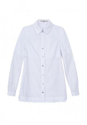 Рубашка JN. Цвет: белый