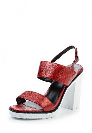 Босоножки Just Couture. Цвет: красный