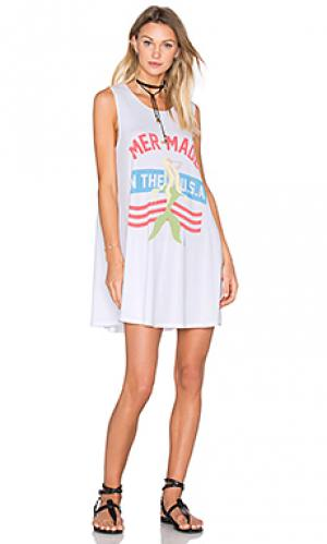Платье mermade in the usa Laundry Room. Цвет: белый