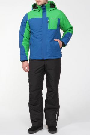 Горнолыжный костюм TUCKER Five seasons. Цвет: зеленый
