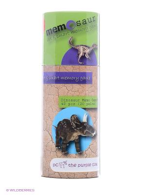 Игра для развития памяти - Динозавры THE PURPLE COW. Цвет: зеленый