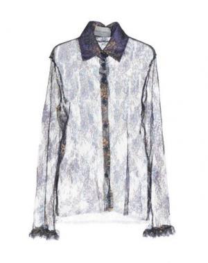 Pубашка DAIZY SHELY. Цвет: темно-синий