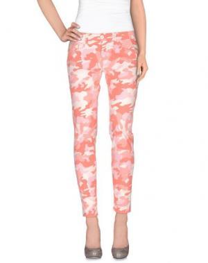 Повседневные брюки MAISON CLOCHARD. Цвет: лососево-розовый