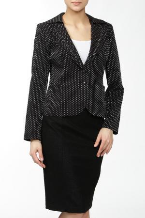 Пиджак MODART. Цвет: черный, серебро