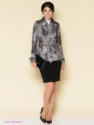 Куртка Stets. Цвет: черный, серый