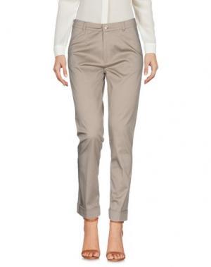 Повседневные брюки BARONI. Цвет: хаки
