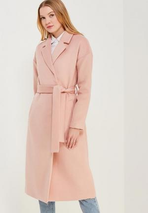 Пальто Zarina. Цвет: розовый