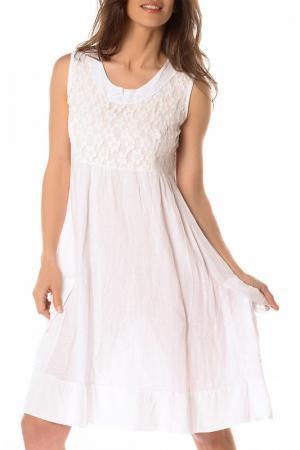 Платье LA BELLE PARISIENNE. Цвет: белый