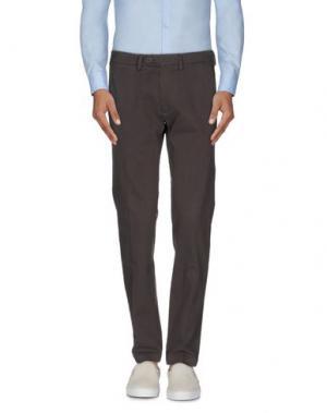 Повседневные брюки JEY COLE MAN. Цвет: темно-коричневый
