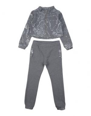 Спортивный костюм ALVIERO MARTINI 1a CLASSE. Цвет: серый