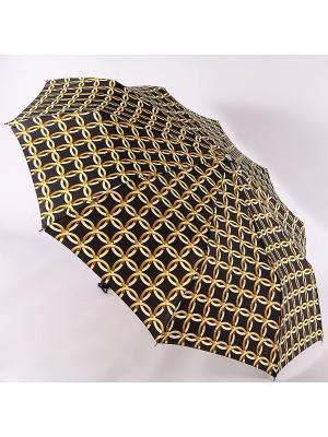 Зонт Zest. Цвет: черный, золотистый