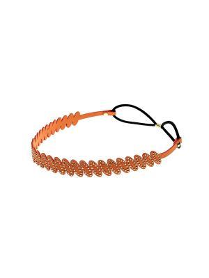 Повязка на голову Migura. Цвет: оранжевый