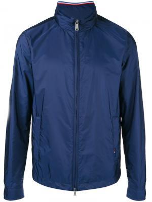 Куртка с воротником-стойкой Paul & Shark. Цвет: синий
