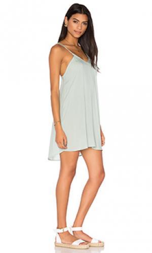 Платье kamaaina Acacia Swimwear. Цвет: бирюзовый