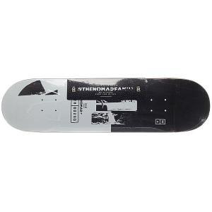 Дека для скейтборда  Northbound Block 32.375 x 8.375 (21.3 см) Nomad. Цвет: серый,черный