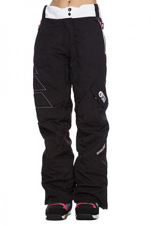 Штаны сноубордические женские  Leader 2 Pant Black Picture Organic. Цвет: черный