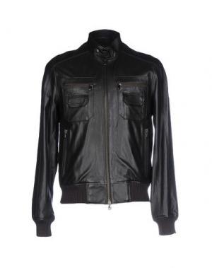 Куртка GOLD CASE by ROCCO FRAIOLI. Цвет: темно-коричневый