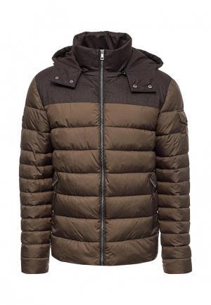 Куртка утепленная Grishko. Цвет: коричневый