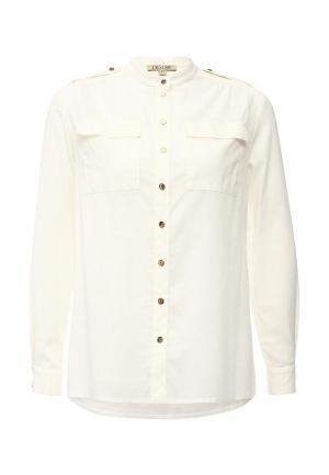 Рубашка Devore. Цвет: бежевый