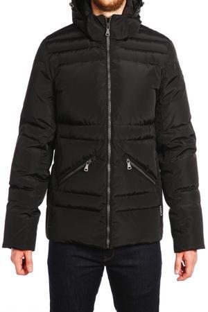 Куртка XASKA. Цвет: черный
