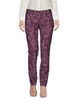 Повседневные брюки DANIELA DREI. Цвет: розовато-лиловый
