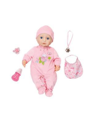 Игрушка Baby Annabell Кукла многофункциональная, 46 см ZAPF. Цвет: розовый