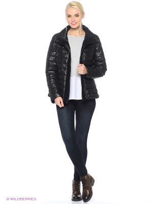 Куртка Blue Seven. Цвет: черный
